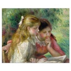 The Reading, c.1890 95 (oil on canvas) (see also 1 Framed Print