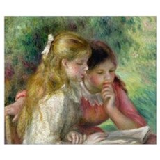 The Reading, c.1890 95 (oil on canvas) (see also 1 Poster