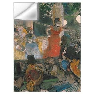 Cafe Concert at Les Ambassadeurs, 1876 77 (pastel Wall Decal