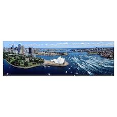 Australia, Sydney, aerial Poster
