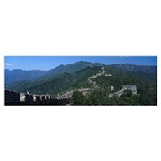 Great Wall of China Mutianyu China Poster