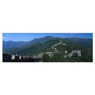 Great Wall of China Mutianyu China Canvas Art