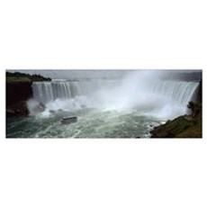 Horseshoe Falls Niagara Falls Poster