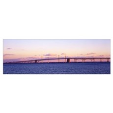 Chesapeake Bay Bridge MD Poster