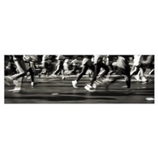 New York Marathon New York NY Framed Print