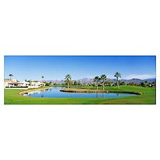 Rio Verde Golf Course Rio Verde AZ Poster