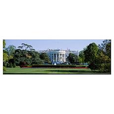 White House, Washington, DC Poster