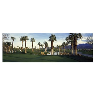 Palm Springs Golf Course CA Poster