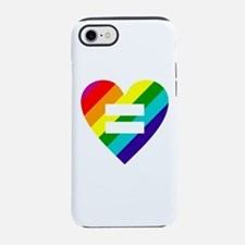 Rainbow love equals love iPhone 7 Tough Case