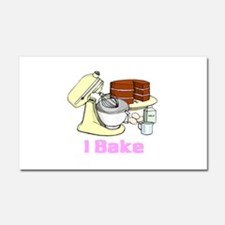 I Bake Car Magnet 20 x 12