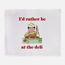 The Deli Throw Blanket