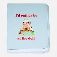 The Deli baby blanket