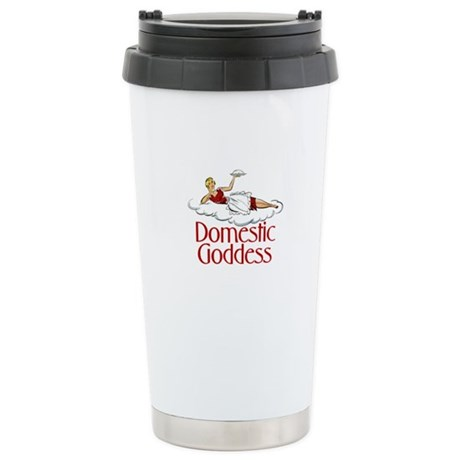 Domestic Goddess Stainless Steel Travel Mug