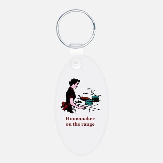 Homemaker on the Range Keychains