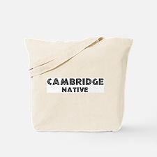 Cambridge Native Tote Bag