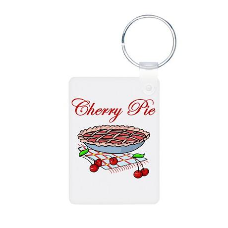 Cherry Pie Aluminum Photo Keychain