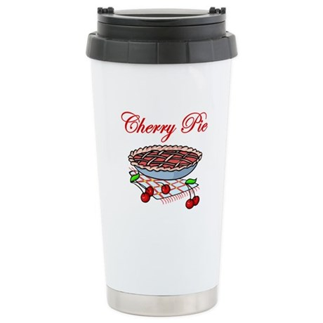 Cherry Pie Stainless Steel Travel Mug