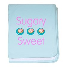 Sugary Sweet baby blanket
