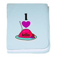 Jello baby blanket
