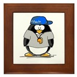 Coach penguin Framed Tile