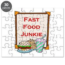 Fast Food Junkie Puzzle