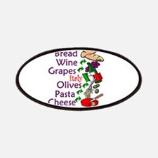 Italian Food Patches