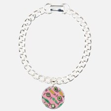 Pink Sushi Collage Bracelet