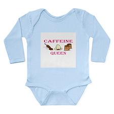 Caffeine Queen Long Sleeve Infant Bodysuit