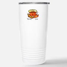 Coffee Biscotti Love Travel Mug