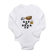 Gin and bear it Long Sleeve Infant Bodysuit