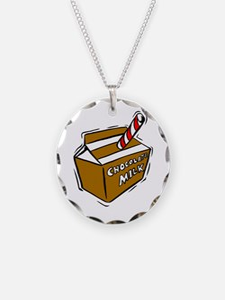 Cute Chocolate milk Necklace