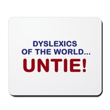 Dyslexics of the World Mousepad