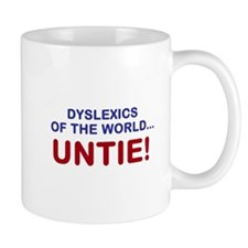 Dyslexics of the World Mug