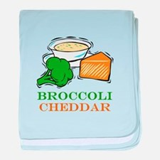 Broccoli Cheddar Soup baby blanket