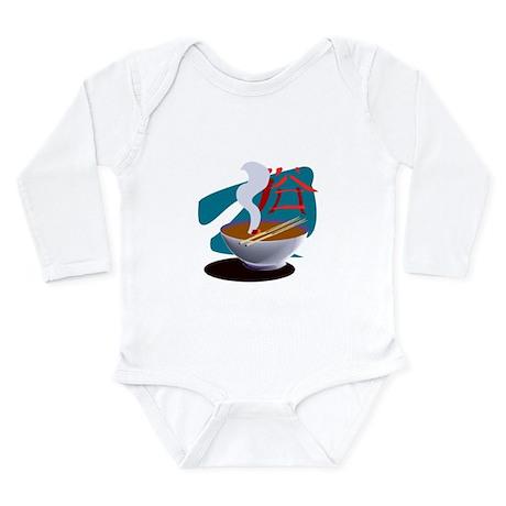 Miso Soup Long Sleeve Infant Bodysuit