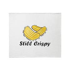 Cute Potato chips Throw Blanket