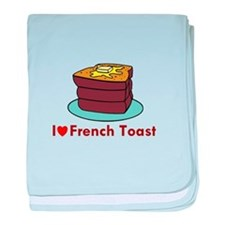 French Toast baby blanket