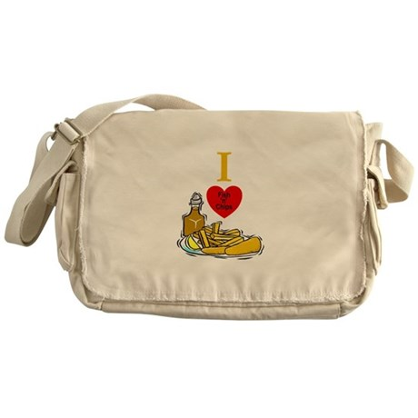 Fish N Chips Messenger Bag