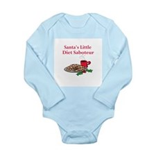 Diet Saboteur Long Sleeve Infant Bodysuit