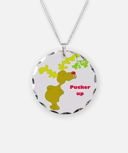 Pucker Up! Necklace