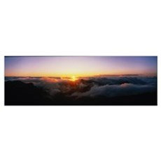 Cloudscape Maui HI Canvas Art