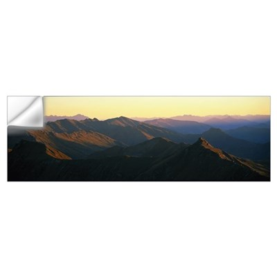 Harris Mountains New Zealand Wall Decal