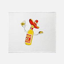 Cerveza Throw Blanket