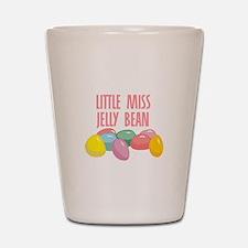 Little Miss Jelly Bean Shot Glass