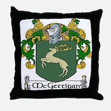 McGettigan Coat of Arms Throw Pillow