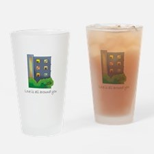 Cute All rise Drinking Glass