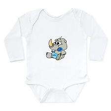 Baby Rhino Long Sleeve Infant Bodysuit