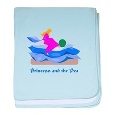 Princess and the pea baby blanket