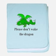 Sleeping Dragon baby blanket