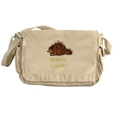 Want to Cuddle? Messenger Bag